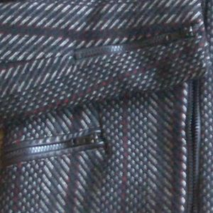 Parker Jackets & Coats - Parker Holly leather panel tweed jacket S